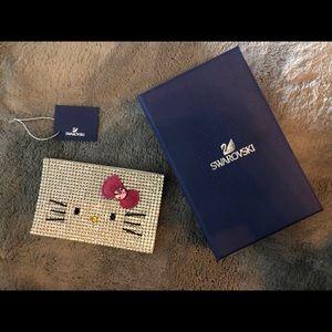 9435a2380 Swarovski Accessories | Crystal Hello Kitty Card Holder | Poshmark